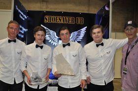 FINSTASEN: Shoesaver gjorde det sterkt under NM i ungdomsbedrift på Lillestrøm i mai.