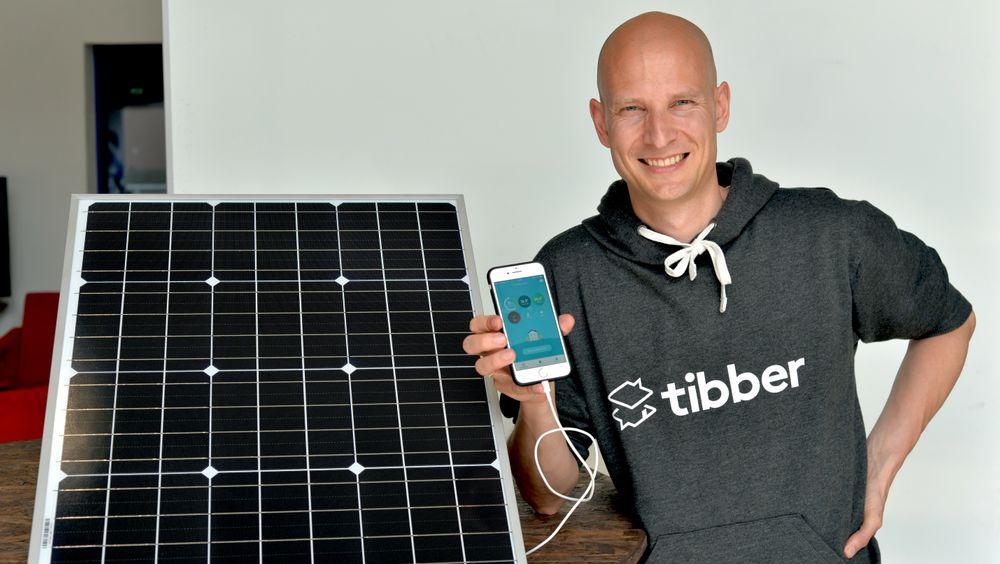 Edgeir Vårdal Aksnes, daglig leder i Tibber. Tibber har lansert et virtuelt batteri som lar deg lagre 10.000 kilowattimer hos andre Tibber-brukere.