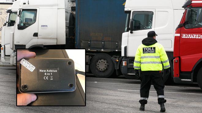 – Sjåførene har blitt flinkere til å gjemme utstyret så det ikke kan oppdages med det blotte øye
