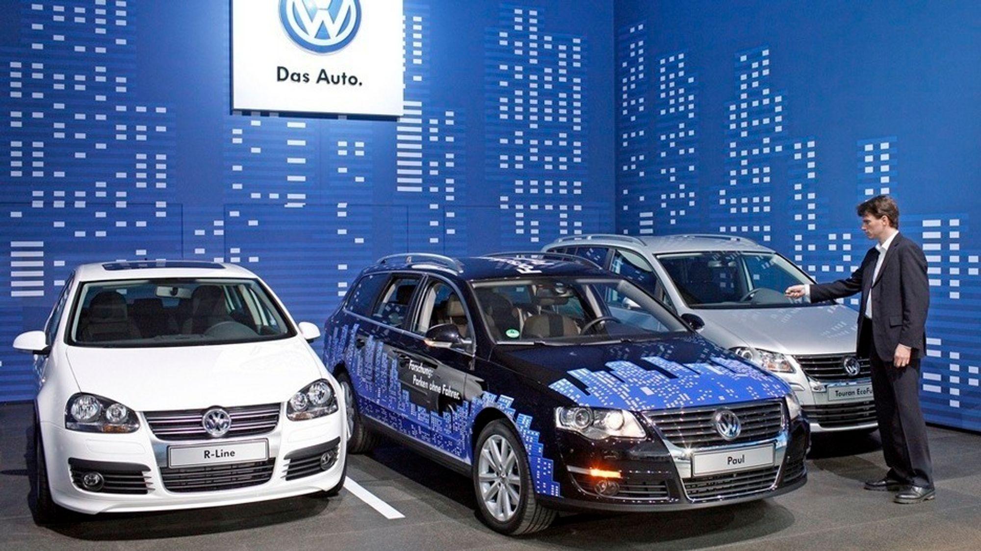 Volkswagen Passat med Euro 5-motor har høyt utslipp av NOx, viser testing.