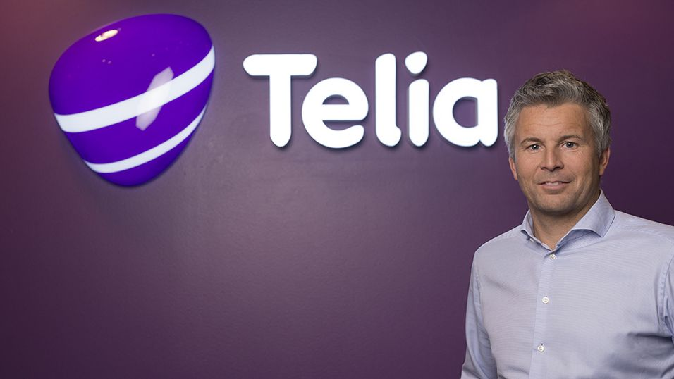 Ove-Mathias Lind, leder for Telia Privat.