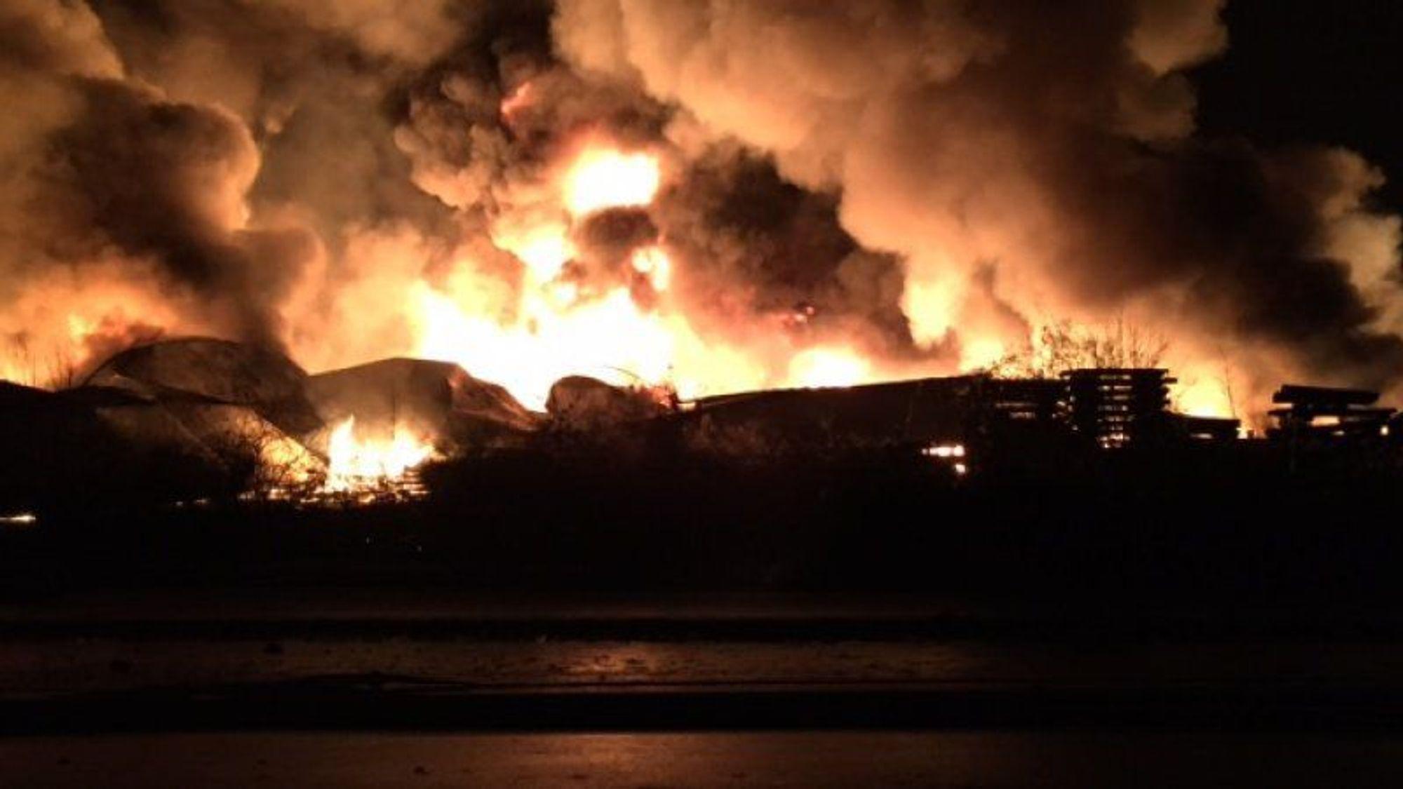 3. februar i fjor kollapset en stor gjødseltank hos en av nordeuropas største gjødselprodusenter på danske Fredericia havn. Store mengder rant ut i Lillebælt-sundet.