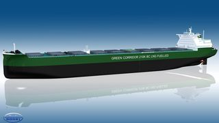 Nytt konsept: Store bulkskip som kan gå på flytende naturgass