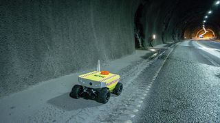 Norsk robot skal bidra til å redde liv i brennende tunneler