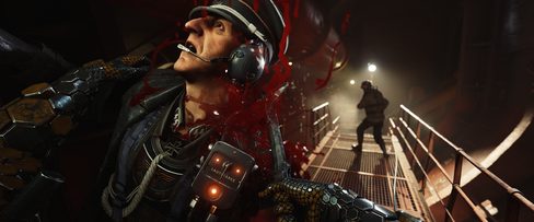 Wolfenstein II: The New Colossus blir blodig i alle fall.