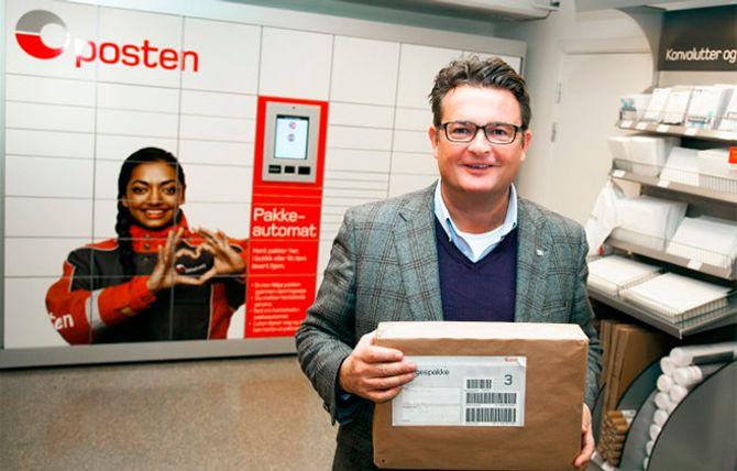 Netthandelen vokser raskt, hvilket medfører at Gunnar Henriksen og resten av Posten Norge får stadig flere pakker å holde orden på.