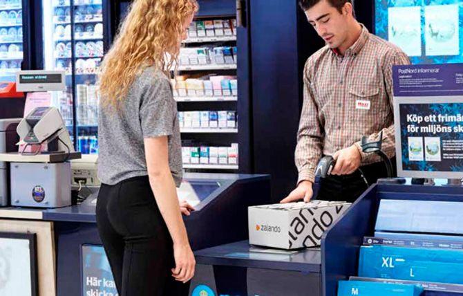 At en bestiler vare til sitt nærmeste pakkeutleveringssted i butikk, men senere ombestemmer seg og velger en annen leveringsform, vil vi se mer av i tiden fremover.