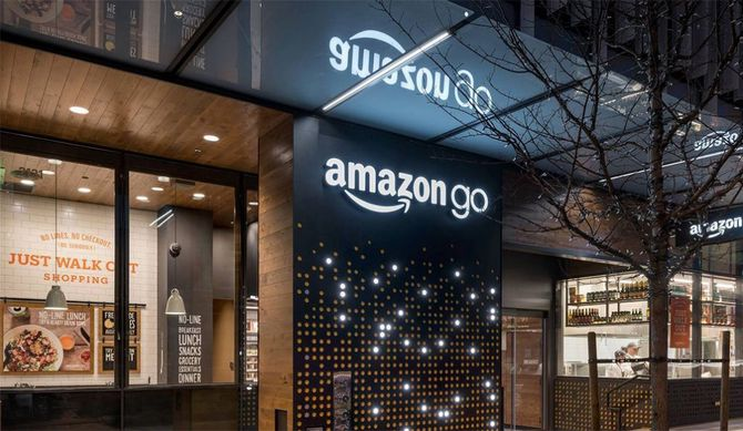Amazon fikk mye oppmerksomhet før jul da de lanserte sin nye kasseløse butikk.
