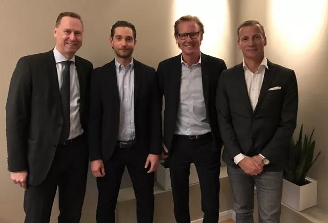 Harald Ennen, Hans Bengtsson, Magnus Pettersson, Andreas Ekberg