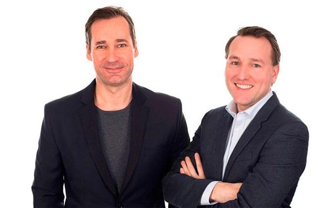 Skruvat-gründerne Peter Jakobsson (t.v.) og Roberth Risberg.