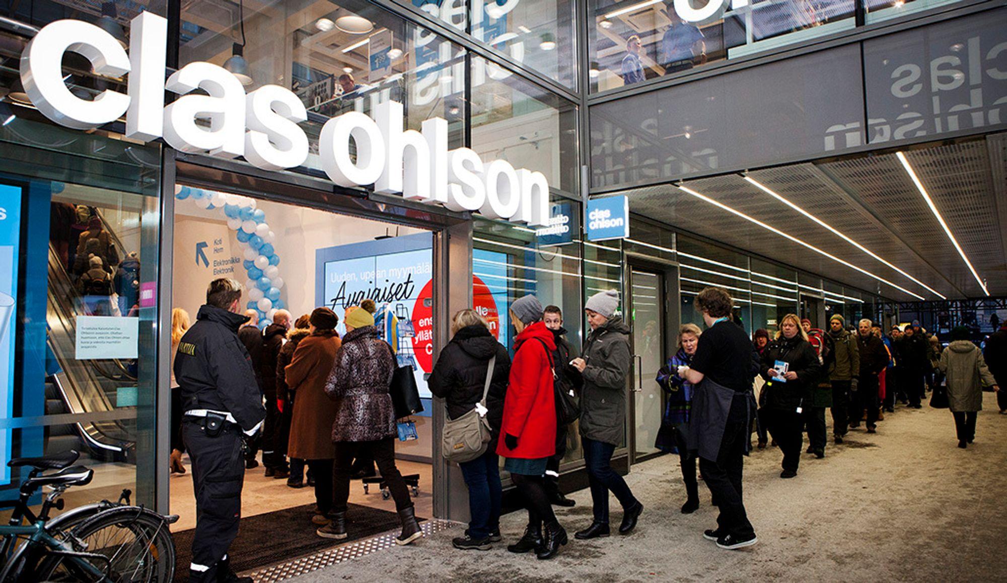 cb22fb04b Clas Ohlson legger ned fysiske butikker - vil satse mer på ...