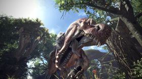 Dinosaurer er bare ett av mange beist man skal jakte på i Monster Hunter: World.
