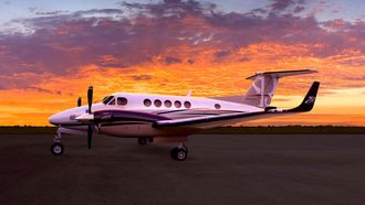 Beechcraft King Air 250.