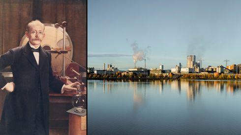 For 112 år siden fikk han en idé om lysbuefiksering av nitrogen til kunstgjødsel. Det ble starten på Yara