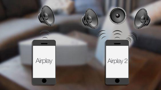 Airplay 2 lar deg styre flere høyttalere samtidig, ikke bare én.
