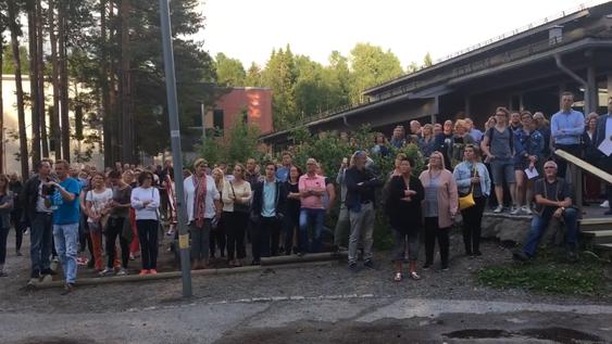 HAR VEKKET FOLKET: Stopp Støyen sitt engasjement har blitt lagt merke til både lokalt og utenfor Oppegårds grenser.