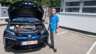 Vi har kjørt gjennom Tyskland på hydrogenkraft