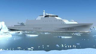 De nye Kystvakt-skipene skal bygges på gammelt design: Tre verft kjemper om kontrakten