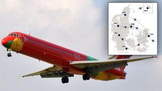 Korte avstander gjør at innenriksruter passer godt til elektriske fly