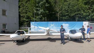 Hydrogenflyforsker: Thomas Stephan har jobbet med Hy4 siden utviklingen startet for rundt 3 år siden.