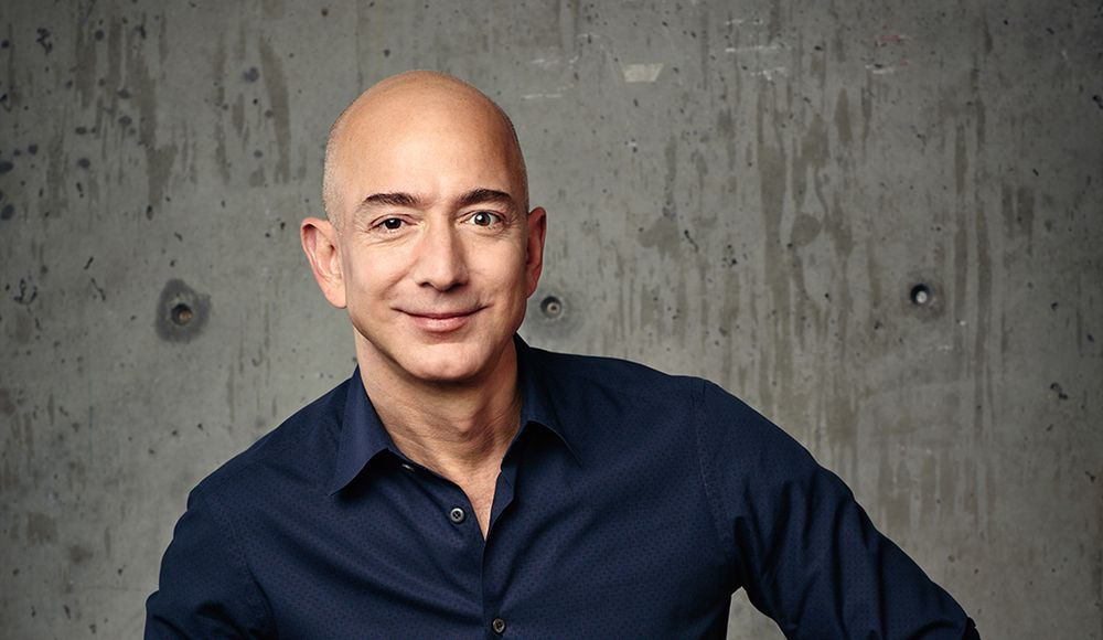 MISTER AMAZON: Jeff Bezos.
