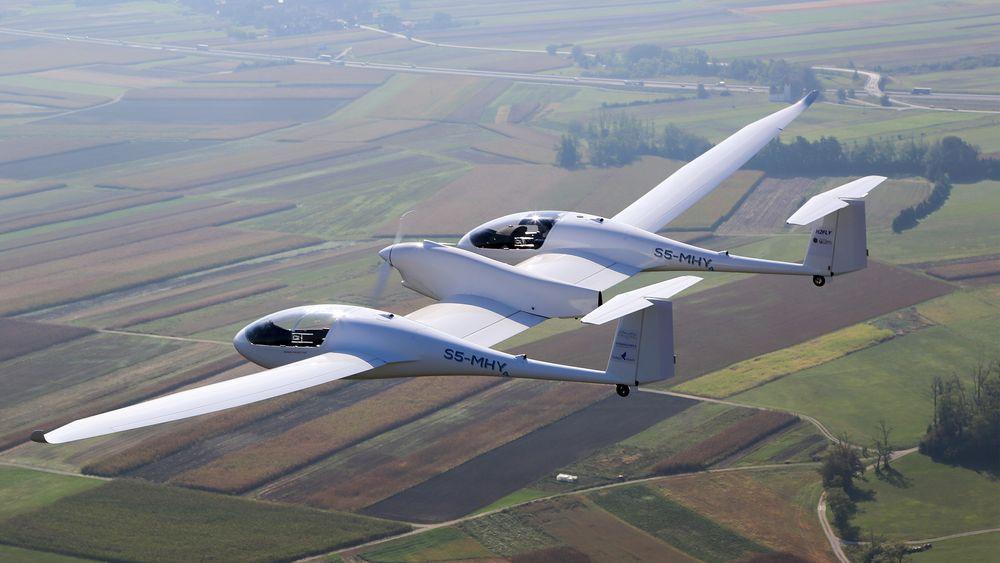 H2-fly i luften: Til nå har Hy4 fløyet cirka 12 timer siden starten sist september
