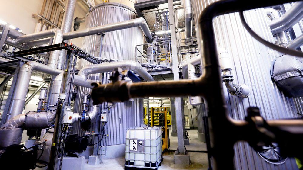 Oslo kommunes biogassanlegg i Nes på Romerrike.