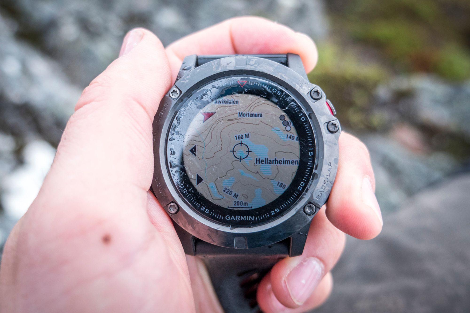 klokke med kart TEST: Garmin Fenix 5, 5X og 5S   Mer informasjon   Tek.no klokke med kart