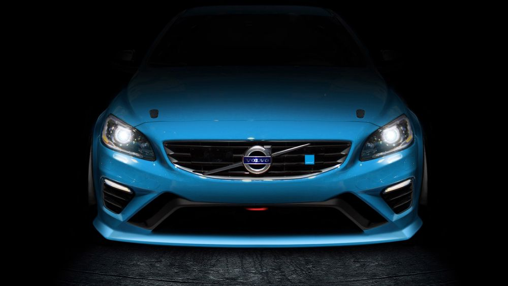 Blåfargen og den vesle firkanten ved siden av logoen i grillen har vært kjennetegnet på Volvos Polestar-modeller. I framtida kommer det Polestar-biler uten Volvo-logo.