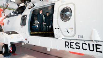 Det er godt med plass i kabinen på de nye redningshelikoptrene.
