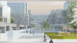 1000 kvadratmeter vindusflate skal lage strøm til det nye sykehuset i Bergen