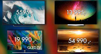 Dette er de aller beste TV-kjøpene du kan gjøre akkurat nå