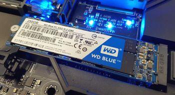 Test: WD Blue PC SSD