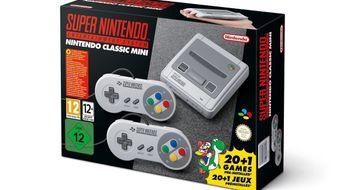 Mini-Super Nintendo er annonsert