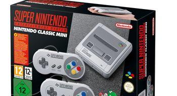 Nintendo avslører mini-SNES