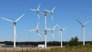 Nye typer vindmøller tøyer grensene