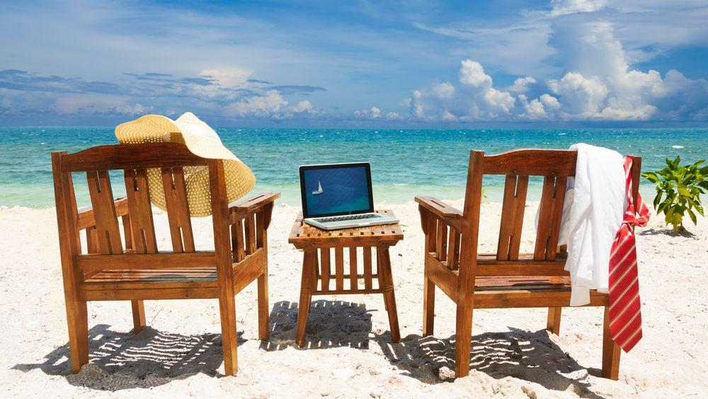 Når er det ok at jobben ringer deg mens du sitter i solstolen?