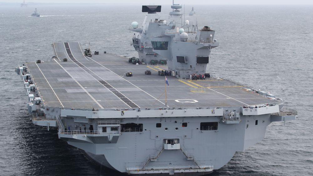 Det vekker oppsikt at Storbritannias nyeste krigsskip, HMS Queen Elizabeth, har systemer basert på Windows XP.