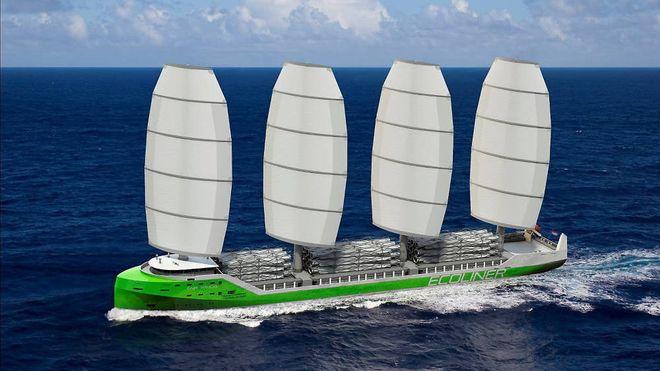 – I løpet av de neste fem årene er planen å bygge en skipsflåte med 15 til 25 «kjempeseilskip»