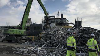 Slik foredles aluminiumsavfall til verdifullt råstoff