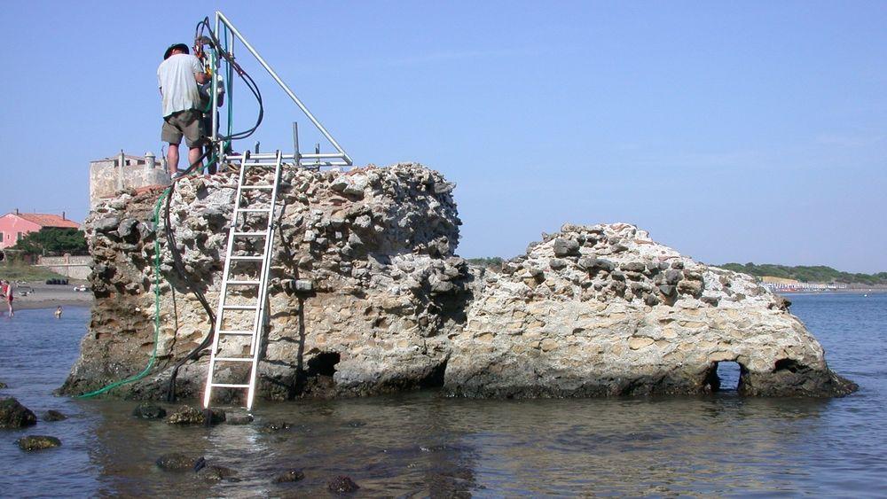 Forskerne undersøkte prøver fra Portus Cosanus, en gammel romersk pir i Ortebello i Italia.