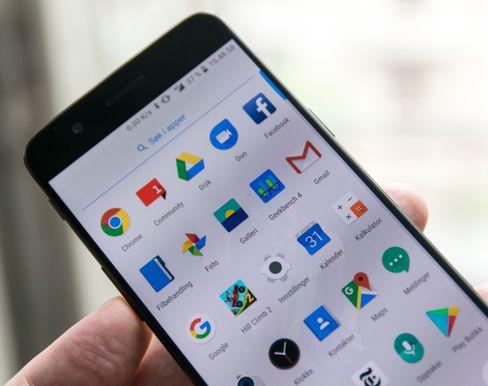 Telefonmenyene ser ut som ren og pen Android, men det skjuler seg mange flere valgmuligheter her enn de Google selv har lagt til i menyene.