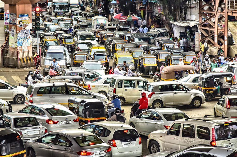 Skrekktrafikk: Det er ikke mulig å tredoble trafikken når den ser slik ut i dag.