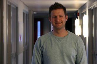 GLAD FOR STØTTE: Thomas Norheim Moen er glad for all økonomisk støtte dei kan få.
