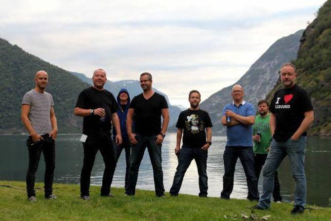 KJENNINGAR: Medan mange av artistane under årets Målrock aldri har spelt på festivalen før, er Strupetakarane godt vande med å stå på scena i Meiriparken.