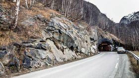 NY DRAKT: Seimsdalstunnelen skal oppgraderast for 290 millionar kroner. Foto: Statens vegvesen.