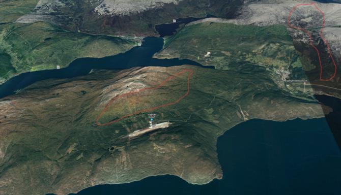 RÅKAR STISYKLISTANE:Her ser du omtrent kvar dei to naturreservata er føreslått oppretta. For meir detaljerte kart kan du sjå nedst i