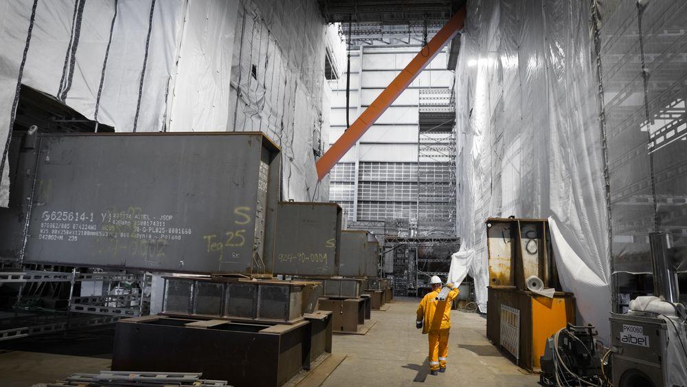 Modulen som bygges i Haugesund blir den midterste av de tre modulene til boreplattformen.