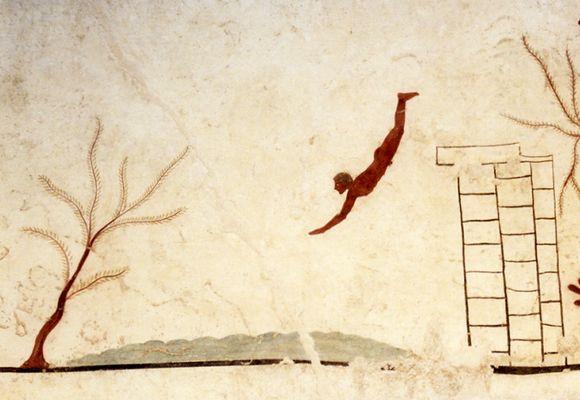 Stuperens grav fra år 470 før vår tid.