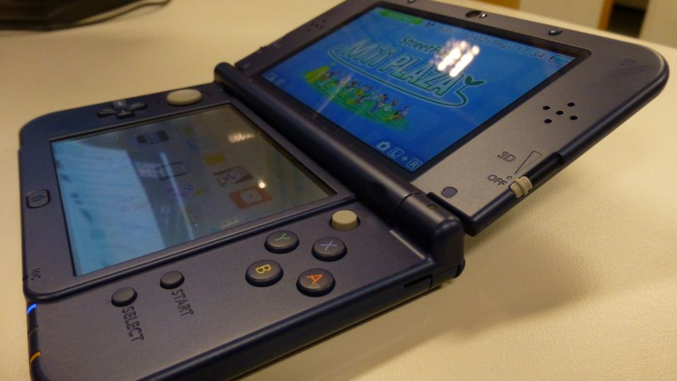 Avbildet: New Nintendo 3DS XL.